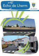 Couverture du Journal Echo de Lherm n°59 - Juillet 2015