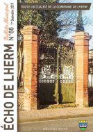 Couverture du Journal Echo de Lherm - n°66- 1er semestre 2019