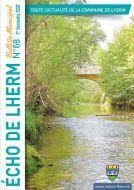 Couverture du Journal Echo de Lherm - 1er semestre 2020