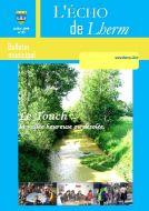 Couverture du Journal Echo de Lherm n°45 - Juillet 2008