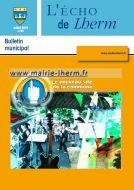 Couverture du Journal Echo de Lherm n°49 - Juillet 2010