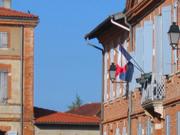 La mairie de Lherm